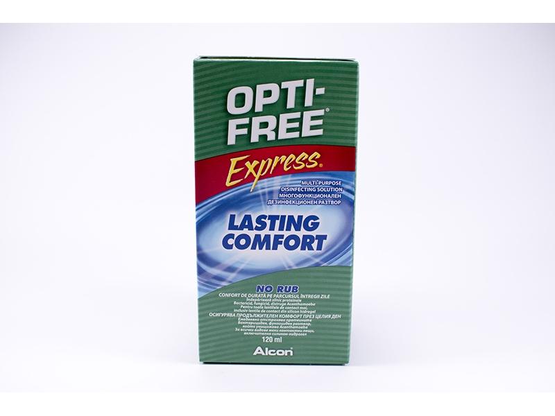 Разтвор за контактни лещи OptiFree 120ml.