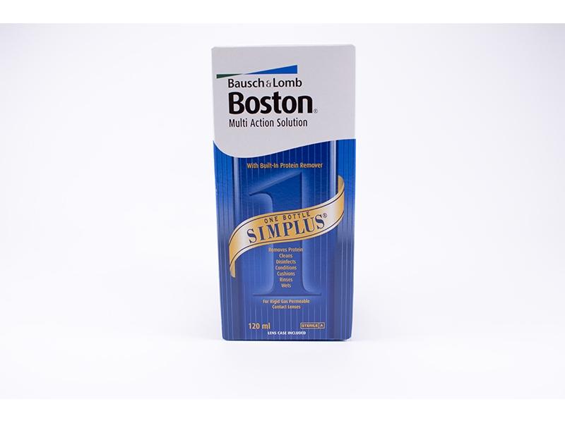 Разтвор за контактни лещи Boston Multi 120ml.