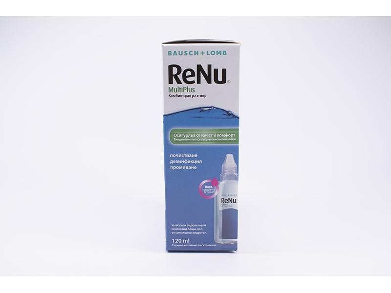 Разтвор за контактни лещи ReNu 120ml.
