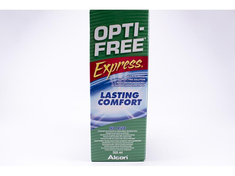 Разтвор за контактни лещи OptiFree 355ml.