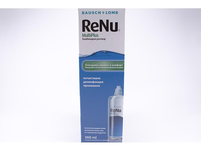 Разтвор за контактни лещи ReNu 360ml.