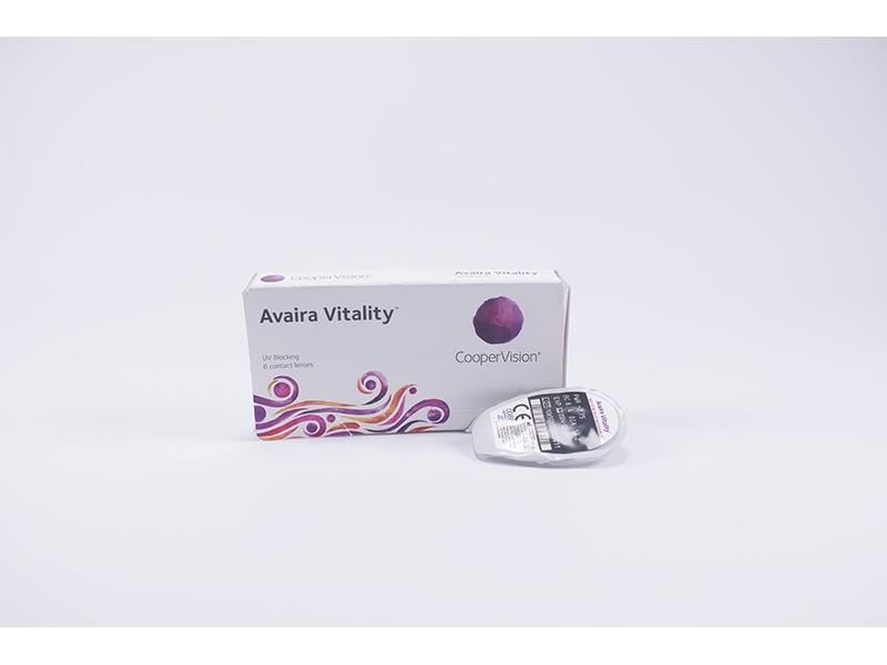 Едномесечни контактни лещи Avaira