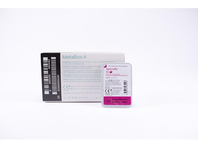 Едномесечни контактни лещи Specialty 55